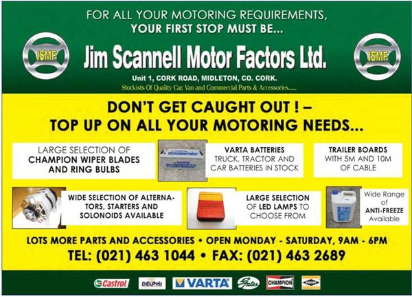 Jim scannell motor factors ltd midleton motor factors car parts photo gallery malvernweather Gallery
